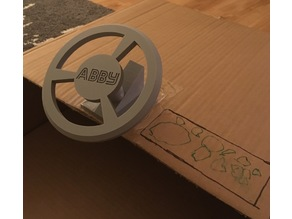 Toy Steering Wheel and base