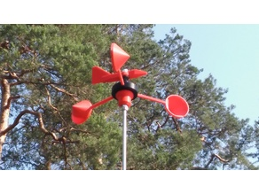 Wind Spinner with various Indicators. Design your own.
