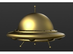 UFO Sculpture