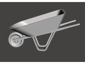 1/10 Wheelbarrow RC Accessory