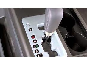 Nissan Titan Shift Cover