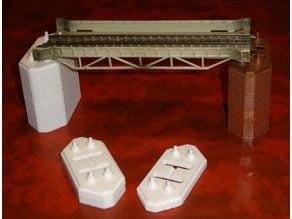 Pillars for Märklin bridges