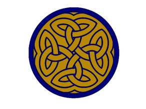 Celtic Knot Drink Coaster 2