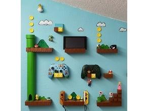 Super Mario World Nintendo Switch Controller Pro Joy Con Wall Holder