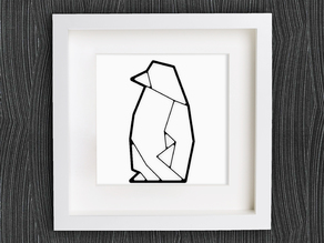 Customizable Origami Penguin