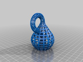 Wireframe Klein Bottle
