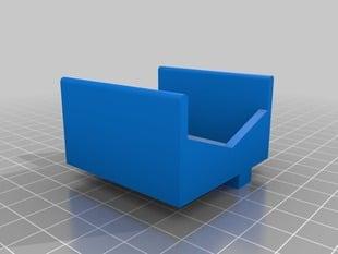 Leapfrog Creatr - Filament lubrication tray - Right feeder tube