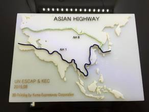 Asian Highway 1, 6 through South Korea