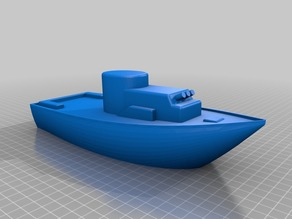 Toy Boat with Guns!