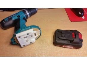 Universal Parkside X20v battery adapter