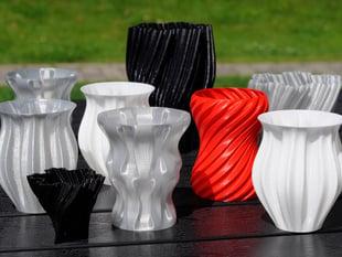 Scripted vases