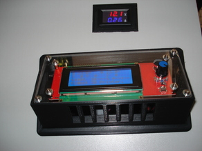 LCD display casing