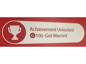 Wedding (Achievement Fun)
