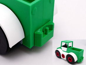 Towhook Module (Playmobil compatible) for Toy Transporter