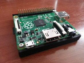 A+ Minimal case / base for Raspberry Pi model A+