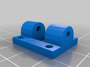 Tricopter rear roll bracket
