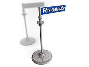 Street sign - Witzlebenstraße Lepsiusstraße | your Street