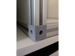 3030 - 30mm corner connector for extruded aluminium section