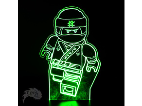 Ninjago Lloyd LED Lamp Plate