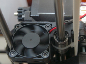M90 X-Carriage Fan Mount modificaction