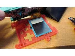 Pokitto LCD holder