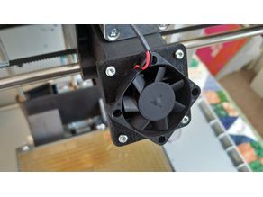 50mm to 40mm Fan Layer Cooler Adapter for DaVinci 1.0