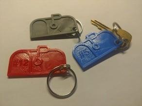 Mailbox Keychain