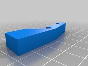 HP Officejet 4500 paper-tray hooks