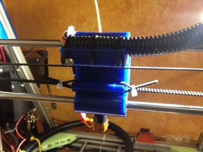 X carriage for OB1.4 printer / Wired1