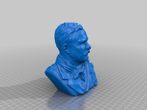 Roosevelt Scan with MakerBot Digitizer