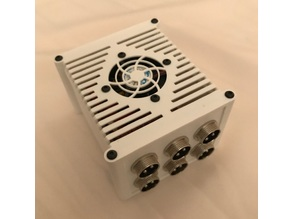 Arduino Uno + CNC Shield Enclosure with internal fan