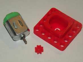 bigger small engine housing lego technic compatible