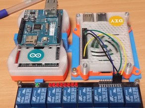 Raspberry,Arduino,Relay - Holder