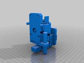 Wanhao Duplicator 9 D9 Carriage and print head