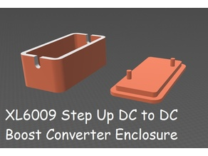 XL6009 Boost DC to DC Step Up Converter Case