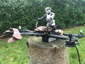 Speeder Bike StarWars Drone Racer
