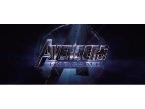 Avengers: Endgame lithophane
