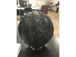 Bathymetric Earth Globe