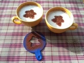 Coffee Stencil - Meeple