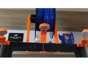 Prusa I3 MK2/MK3 Filament Guide with IKEA LED light