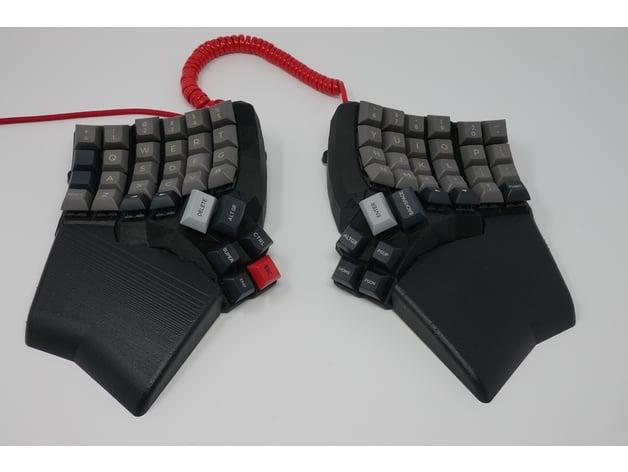 Dactyl Manuform 5x6 keyboard wrist rests by Ozcymm - Thingiverse