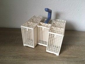Dishwasher cutlery basket - bottom