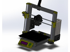 Prusa i3 MK3 SolidWorks Assembly (with STEP)