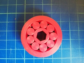 study n.5 on the realization of an extremely tight parametric ball bearing