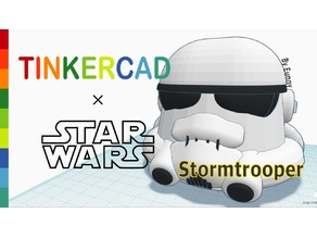 Simple Stormtrooper with Tinkercad