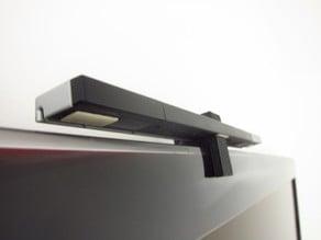 TV Top Wii Sensor Bar Holder