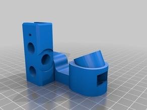 prusa i3 Y-corners with frame brace
