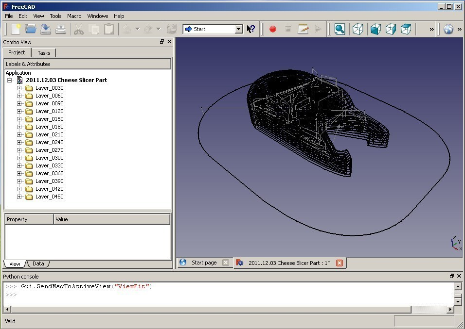 FreeCAD GCode import for Slic3r and Skeinforge by Area51