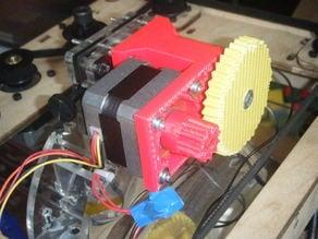 Stepper upgrade for makerbot MK5 extruder