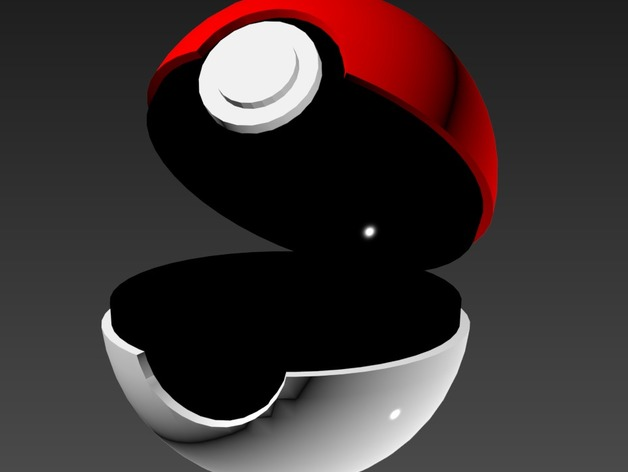 Open Pokeball By Soapy